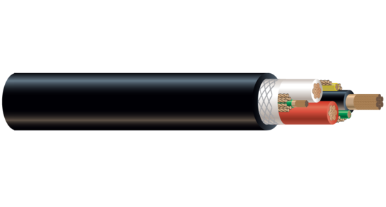 1/C CU 2000V EPDM/CPE Type W RHH/RHW-2 Industrial Grade Cable 90°C