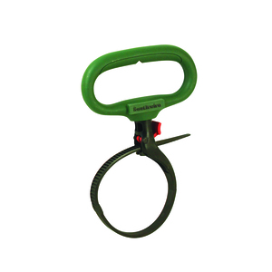 "Heavy Duty Clamp Tie 3"" Green"