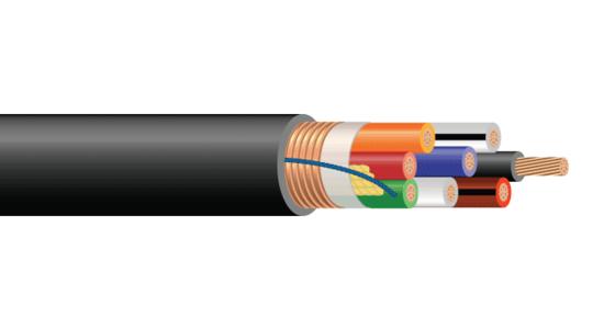 CU FRXLPE PVC SHIELDED CONTROL CABLE