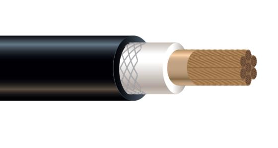 1/C CU 2000V EPDM/CPE Type W RHH/RHW-2 Industrial Grade Cable 90°C