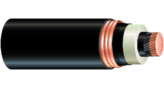 High Voltage Cu 138kV Power Cable