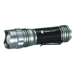 Carbon Fiber Cree LED Flashlight, 275 lm, Non-Rechargeable