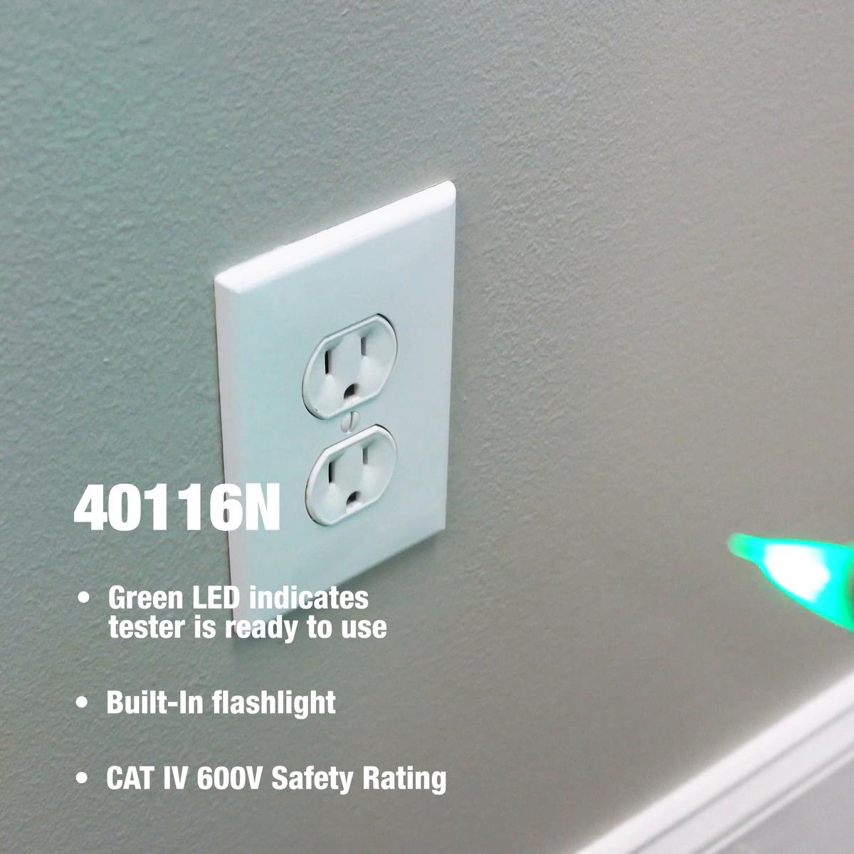 40116N NCV Detector 100-600V AC