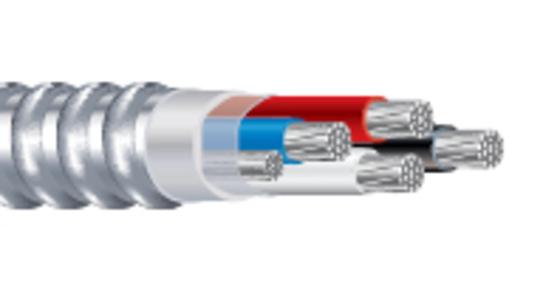 Alumaflex Riser MC™ Cable Type MC AL Feeder THHN/THWN-2 Conductors