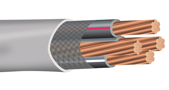 Copper Service Entrance (SER) Cable