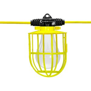 14/3 100' Plastic Cage LED S. Light With I-Bulb