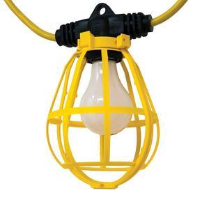 Plastic String Light W/ 14/3 SJTW 100ft