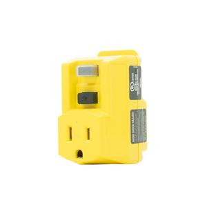 Right Angle GFCI Adapter - Plug in