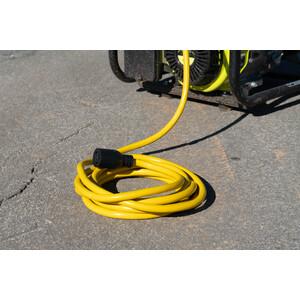 10/4 SJTW 10' Black Generator Cord