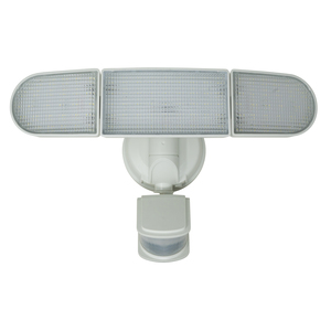 240-Degree Solar Motion Activated White LED Security Light