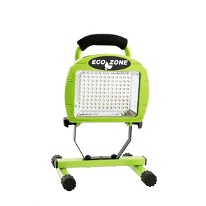 L1313SW 108-LED Portable Work Light with 7.4-Volt Rechargeable Batteries, Green