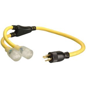 12/4 STOW 3' Generator Cord