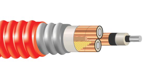 3/C AL 15kV 220 NLEPR 133% AIA PVC MV-105