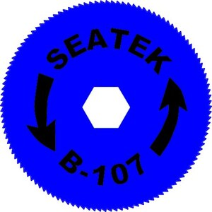 Seatek B-107, Offset Teeth Blade