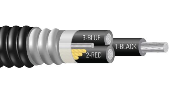 3/C AL 5kV 115 NLEPR 133% PVC MV-105