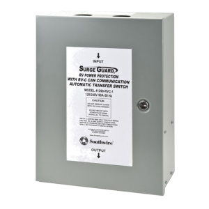 Technology Research Southwire 41390-RVC Surge Guard RVC Compatible Automatic Transfer Switch - 120/240V, 90A