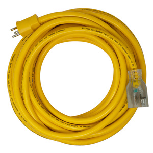 10/3 Extra Heavy-Duty 20-Amp SJTOW General Purpose Extension Cord, 50-Feet