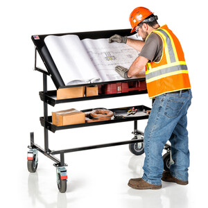 Work-N-Wagon™ Mobile Print Table & Work Station