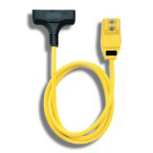 Right Angle GFCI 12/3 Cord Set Tri Source-End