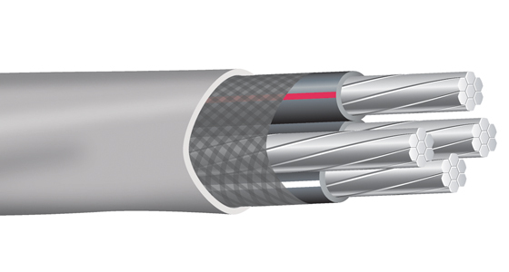 Aluminum Service Entrance (SEU) Cable with Alumaflex® Brand Conductors