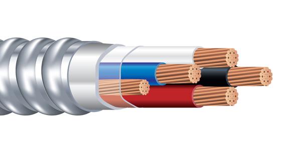 Armorlite Riser MC™ Cable CU Feeder THHN/THWN-2 Conductors