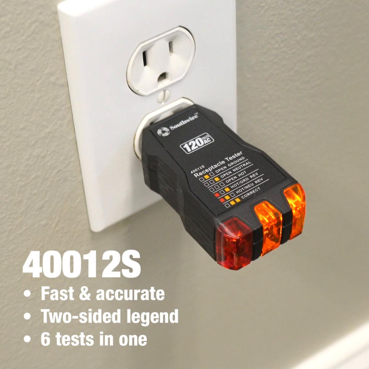 120V AC Receptacle Tester