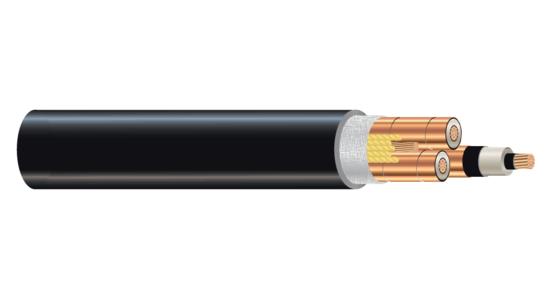 1/C CU 35kV 345 NLEPR 100% SIMpull® PVC MV-105
