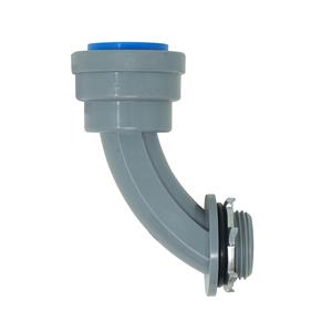 """1/2"""" PVC-CIC Push Install 90 Degree Elbow"""