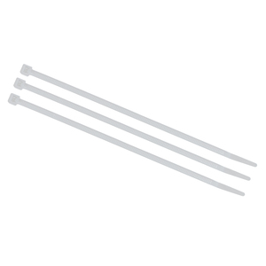 "7"" 50lb Natural Cable Tie, Bag"