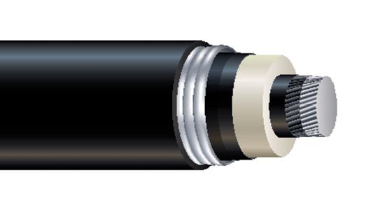 High Voltage Al 345kV/400kV Power Cable
