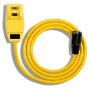 """Right Angle GFCI 14/3 Cord <em class=""""search-results-highlight"""">Set</em> 9"""" Pigtail Single Outlet <em class=""""search-results-highlight"""">NEMA</em> 5-15 P&R"""