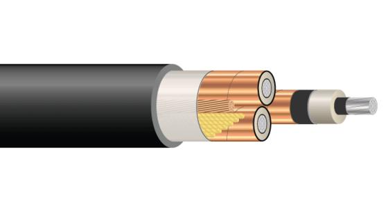 3/C AL 15kV 220 NLEPR 133% PVC MV-105