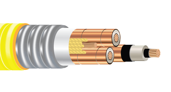 3/C CU 5kV 115 NLEPR 133% ARMOR-X MC HL PVC MV-105 VFD