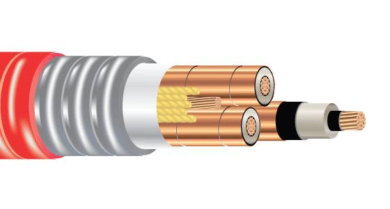 3/C CU 15kV 220 NLEPR 133% GSIA PVC MV-105
