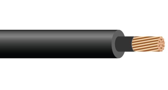 1/C CU 2.4kV XLPE. Silicone Free