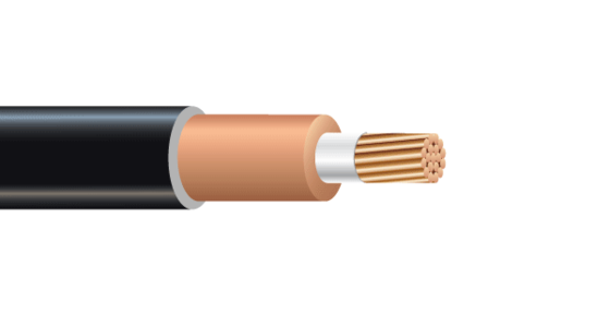 CU 2000V EPR RHH/RHW-2 LSZH TRACTION POWER CABLE